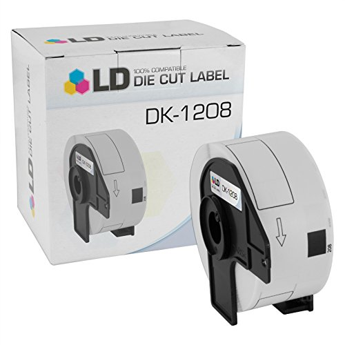 UPC 843964091642, LD © Compatible Brother DK-1208 Address Labels / 1.4 in x 3.5 in