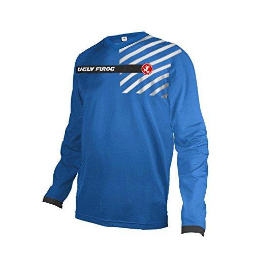 (Uglyfrog Downhill Jersey Motorbikes Protective Clothing Long Sleeve Winter Fleece Warm Cycling Retro Bike Shirt)