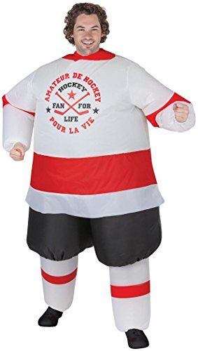 Gemmy - Inflatable Hockey Player Adult - (Inflatable Hockey Player)