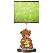 Lambs & Ivy Honey Bear Lamp with Shade