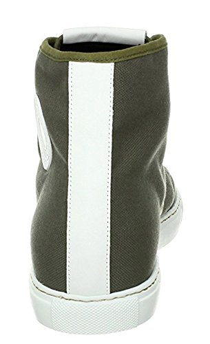 High-top Di Trooper Di Tela Con Texture In Pelle Martellata Di Marc Jacobs (8 Us)