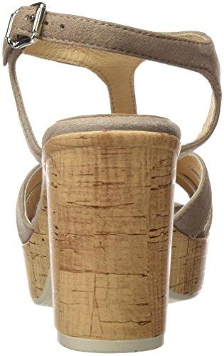 Stone Tacco col a T con Stone Scarpe Grigio Ante Donna 40611 Cinturino Gadea tAq7wEA