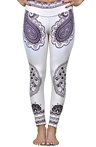 Henna Peacock Yoga Legging (X-Small)