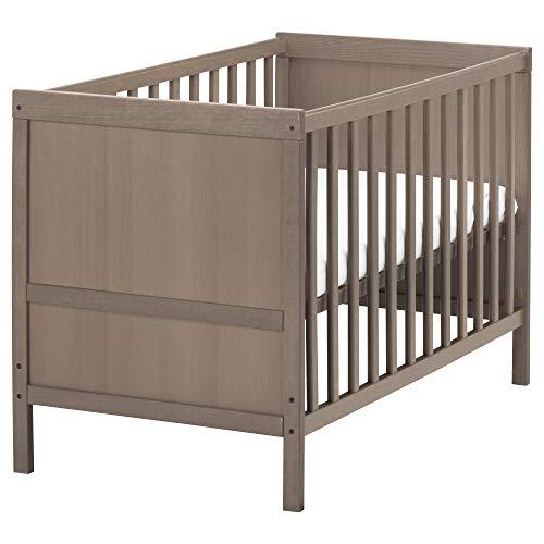 IKEA.. 802.485.73 Sundvik Crib, Gray-Brown