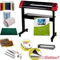 24 USCutter Laserpoint II Vinyl Cutter Bundle - Sign Cutting Plotter with Design & Cut Software