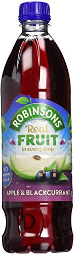 Robinsons Apple (Robinsons Apple & Blackcurrant No Added Sugar 4.65 (Pack of 2))