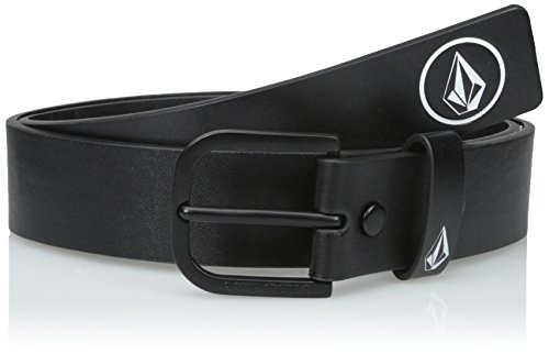 Volcom Men's Clone Pu Belt, Black, (Young Belt)