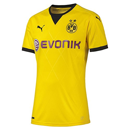 Puma Borussia Dortmund Intl Replica Jersey [giallo] Cyber Giallo