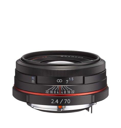 Pentax K-Mount HD DA 70mm f/2.4 70-70mm Fixed Lens for Penta