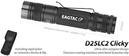 Eagtac D25LC2 Tactical Taschenlampe