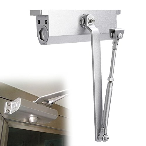 Modrine XXL Large Automatic Door Closer for Commercial and Residential Use Grade 1 Aluminum Alloy Door Close, for Larger Door Weight 176-242lbs (Door Closer Adjustment)