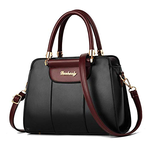 Bag à 5 003 21 Black Q à Sac 12 ANLEI Couleurs CM Mlle Main Messenger PU 28 Sac bandoulière Mode qH17TT5