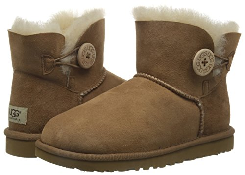 Boots W's Button Bailey sw980 Ugg Femme Mini tr Button Marron qHBXWOZw