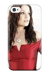 Fashion Tpu Case For Iphone 4/4s- Tarja Turunen Music Defender Case Cover 5142976K29748363