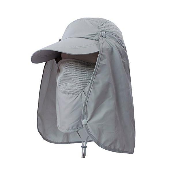 1008ab301c2 Fishing Hat 360°UV Protection Sun Hat
