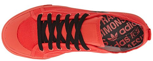 Adidas Raf Simons Matrix Spirit Low-top In Tomaat / Zwart (9 Us Mens; 8.5 Uk)