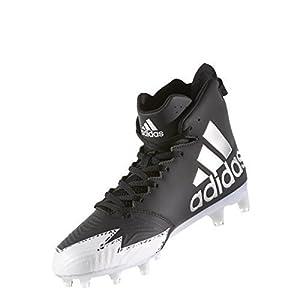 adidas Freak X Carbon Mid Cleat Men's Football 8.5 Core Black-Silver Metallic-White