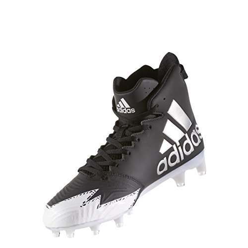 adidas Freak X Carbon Mid Cleat Men's Football 8.5 Core Black-Silver Metallic-White