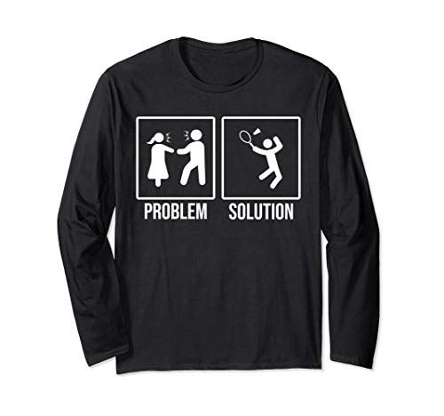Funny Relationship And Badminton Long Sleeve -