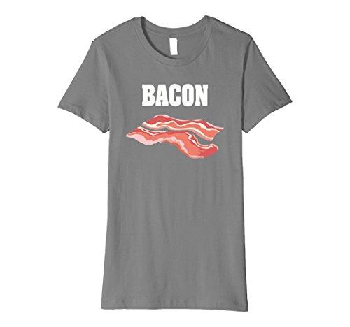 Womens Bacon Group Halloween Costume Premium Shirt - Bacon and Eggs XL Slate