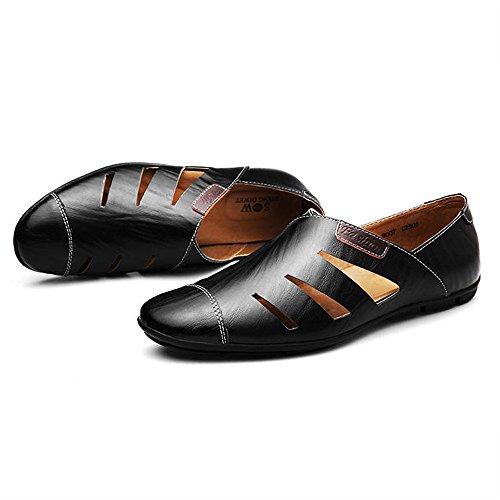 PU UK5 respirantes taille C EU38 d'hommes grande 5 sandales d'été Les CN38 creux de sandales sandales B Couleur ZHANGRONG occasionnelles taille 1T87Xw
