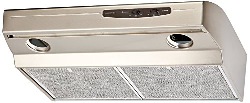 Broan QS130SS  220 CFM Under Cabinet Hood, 30-Inches, Stainless Steel