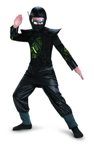 Disguise Combat Operative Recon Expedition Ninja Classic Boys Costume, 10-12 - Deluxe C O R E Ninja Costumes