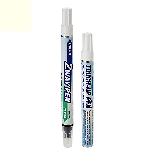 ExpressPaint 2WayPen - Automotive Touch-up Paint for Cadillac ATS - White Diamond Pri Metallic Tri-Coat 98/WA800J - Basic Package