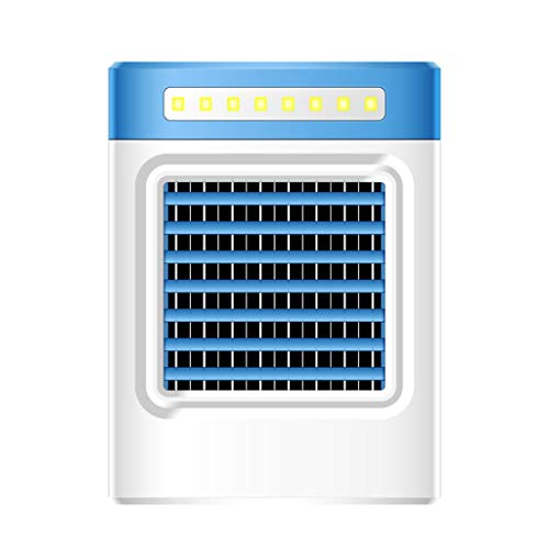 FeiFei66 USB Charging S9 Mini Portable Air Conditioning Fan Home Refrigerator Cooler (Blue)