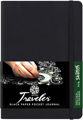 Pentalic Traveler Pocket Journal Sketch, 8 x 6