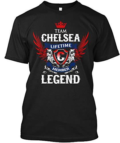 Team Chelsea Lifetime Member Legend 2XL - Black Tshirt - Hanes Tagless Tee