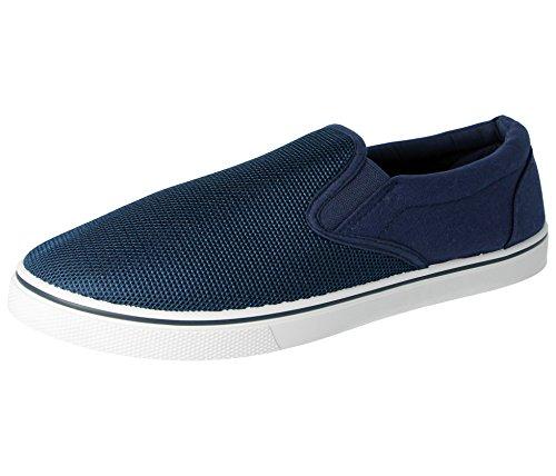 antiscivolo espadrillas 5 ideali ideali nei all'abbigliamento ginnastica da 40 a 47 da abbinare dal modello mocassino da disponibili Scarpe casual al Navy numeri uomo scarpe vCtq1Ow