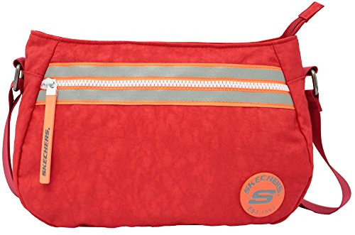 Skechers Borsa Messenger, rosso (Rosso) - 75303.35