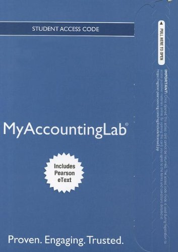 Download NEW MyAccountingLab with Pearson eText --  Access Card -- for Shapland and Turner Cases in Financial Accounting ePub fb2 ebook