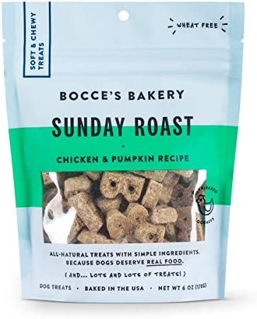 Bocce s Bakery – The Everyday Menu Wheat Free, Soft Chewy Dog Treats
