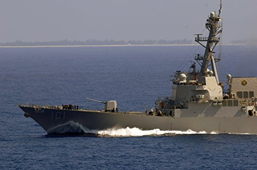 Home Comforts The Arleigh Burke-class guided-missile destroy