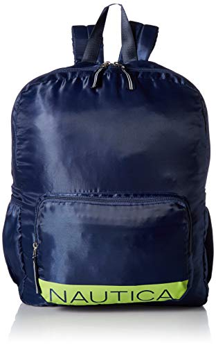 Nautica New Tack Zip Around Packable Backpack, Indigo for sale  Delivered anywhere in Canada