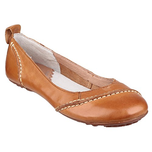 Hush Puppies Damen Janessa Ballerinas Schwarz