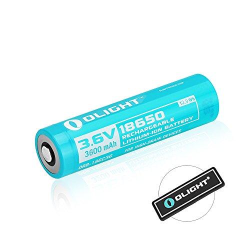 Olight 3600mAh battery Javelot Flashlight