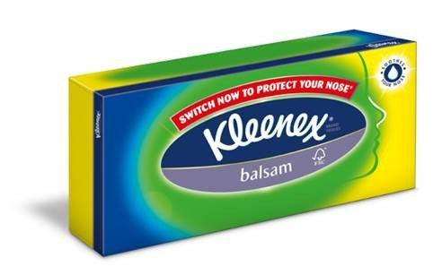 Kleenex Balsam Tissues Box 6-Pack 3 ply