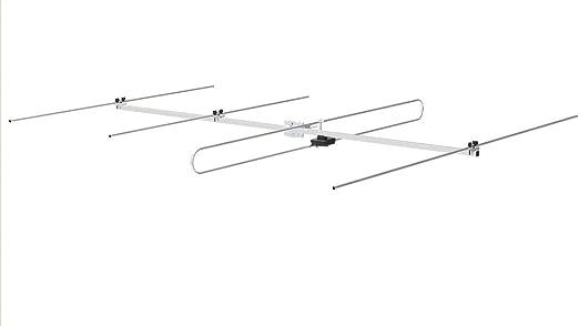 Stellar Labs 30 – 2460 exterior FM Antena direccional de cuatro elementos