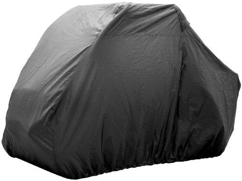 (Quadboss Utv Vehicle Cover for Models W/roll Cage Black)
