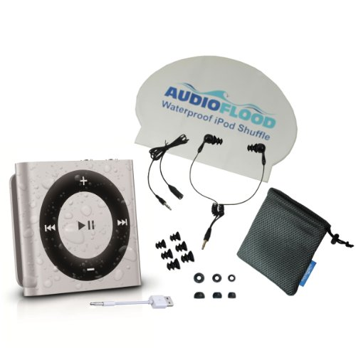 audioflood-waterproof-apple-ipod-shuffle-with-true-short-cord-headphones-silver