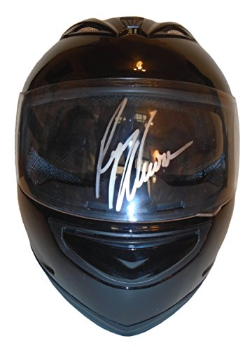 - Nascar Ryan Newman Autographed Hand Signed Full Size Gloss Racing Helmet with Exact Proof Photo of Signing, Monster Energy Cup Series, COA