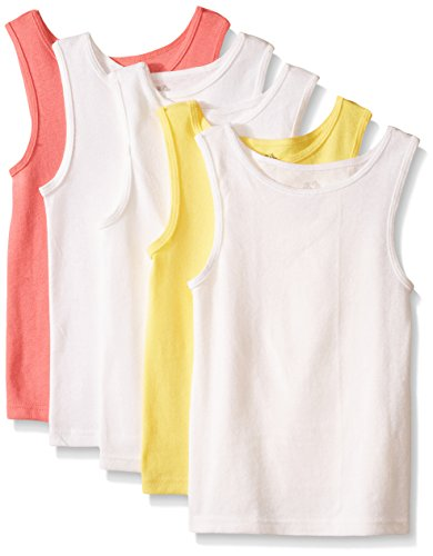 Fruit of the Loom Little Girls' Tank Top (Pack of 5)