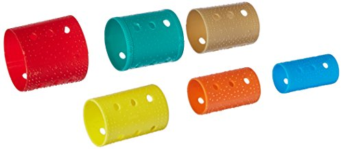 Soft 'N Style Sure Grip Roller Flat Pack, 144 Assorted Rollers