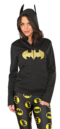 Rubie's Costume Co Women's Hoodie, Batgirl, Medium/Large]()