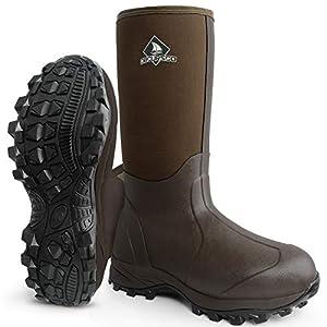 Obcursco Waterproof 6mm Neoprene Rubber Boot