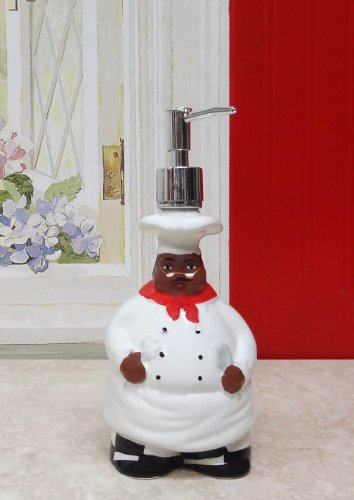 Happy Chef Collection By Ack Soap Dispenser Amp Sponge