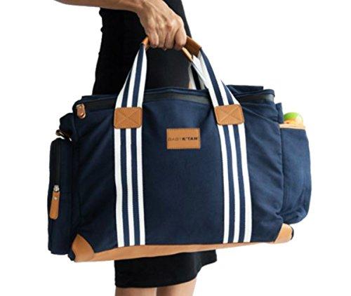 Baby K'tan Weekender Diaper Bag, Navy, One size